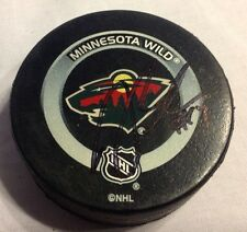 DARBY HENDRICKSON signed Minnesota Wild puck autograph auto MN official NHL