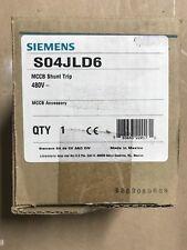 Siemens S04JLD6 Mccb Shunt Trip Circuit Breaker 480volt