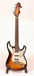 A Burns Club Series Cobra electric guitar, tobacco sunburst finish, serial...