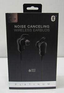 Wireless Earbuds Noise Canceling iLive Platinum Sweat Proof IAEP58B Black New