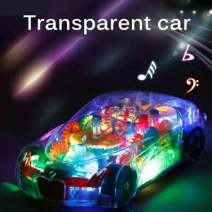 Kids Toy for Boys Cool Car LED Light Music 2 3 4 5 6 7 8 Year old Age Xmas Gift