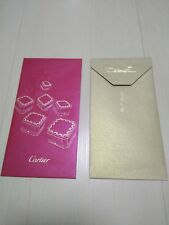 Rare  and Limited Genuine Cartier New Year's Chinese Red Envelopes or Packets