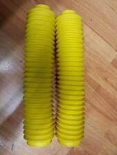 Coppia soffietti forcella gialli non originali yamaha XT600 /Tenere