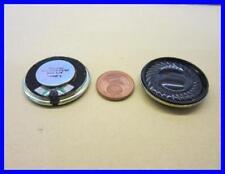 MINI LAUTSPRECHER WASSERFEST Ø 28 mm LD 28/100FN/M/V 100 Ohm 1,5W @ 2 Stück