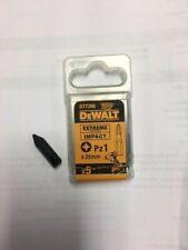Dewalt Extreme impact drill bits Pz1 x 25mm pack 5