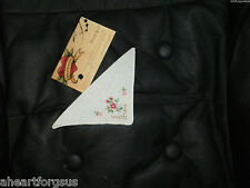 American Girl SAMANTHA HANDKERCHIEF fr MEET ACCESSORIES FLOWERS EC RETIRED WHITE