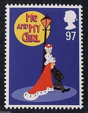 "Musical ""Me and My Girl"" illustrated on 2011 Stamp - U/M"