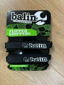 Balin Bodyboard Fin Savers Flipper Grippers Bodyboard/ Swim Training 15mm Black