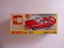 Dinky 108 Sams Car JOE 90 Original BOXED COMPLETE incl. Badge