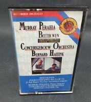 Murray Perahia Beethoven Concertgebouw Orchestra Bernard Haitink cassette tape