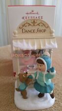 Hallmark 2016 Christmas Window Dance Shop Club Member Exclusive Series Ornament