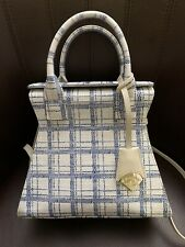 VIVIENNE WESTWOOD The KELLY  Handbag in Blue Tartan MSRP $595