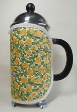 Handmade cafetiere cosy/coffee cosy. Fits an 8 cup jug. Floral Cotton Fabric.
