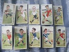 Footballers Caricatures by RIP (1926) John Player & Sons - Complete Your Set