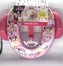 New listing Disney ginsey Minnie Soft Potty Seat With Clip New
