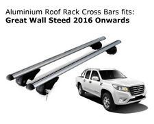 Aluminium Roof Rack Cross Bars fits GREAT WALL STEED 2016 Onwards