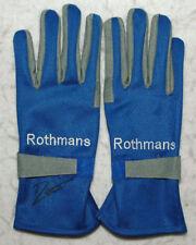 Jacques Villeneuve Signed - Autographed - Replica 1997 Racing F1 Gloves Pair