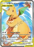 Dragonite & Eevee Tag Team - Custom Pokemon Card