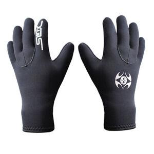 UK New 3MM Neoprene Wetsuit Gloves Diving Swim Scuba Surf Snorkeling Cold-proof