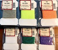 Wapsi Sparkle Braid Fly Fishing Fly Tying Material Choice of Color (One Package)
