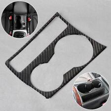 NEW Interior Cup Holder Panel Decoration Frame Carbon Fiber for Audi A4 B8 A5