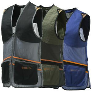 Beretta GT671 Full Mesh Shooting Vest Blue Black or Green