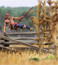 BRITAINS AMERICAN REVOLUTIONARY WAR 16017 WOODLAND INDIAN HURLING FENCE MIB