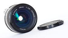 Nikon Nikkor 28 mm f2.8 Ais 1990-Excellent!