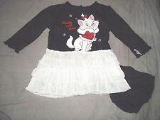 robe coton neuve etiquetée disney marie des aristochats taille 6-9 mois noel