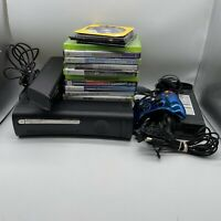Microsoft Xbox 360 Elite 120GB Console W/ 1 Controller Kinect 14 Games & Headset