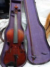 Vintage Antonio Stradivarius Cremonenfis Faciebat Anno 17 Violin With Bow & Case