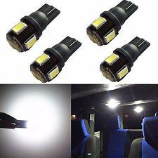 JDM ASTAR 4x T10 White Super Bright  5630 SMD License Light LED Bulb 194 168 912