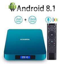AI ONE TV Box 2G/4G 16G/32G Voice Control Andriod 8.1 Quad-core RK3328 4K J2Q5C