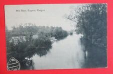 Mill Race Eugene OR Unposted DB Postcard
