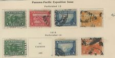 USA 1913 PANAMA PACIFIC EXPOSITION ISSUE
