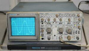 Tektronix 2230 oscilloscopio digital storage