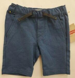 🥇 Ensign Blue 4T Levi's Boys' Toddlers Santa Cruz Knit Short Elastic waistband
