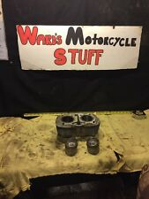Honda SL350 Twin CB . Engine  top end cylinders jug pistons
