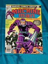 Machine Man # 1, 1978, Jack Kirby Story & Art, Very Fine Condition