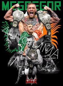 Conor McGregor 4LUVofMMA Poster New Notorious MMA