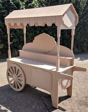 Sweet cart for sale, candy carts fully collapsible, wedding, candy bar display