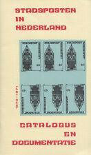 Stadsposten in Nederland 1970-1971, catalogus en documentatie, 1970