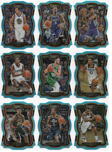 2017-18 Select Prizms Die Cut Light Blue /185 Pick Any Complete Your Set