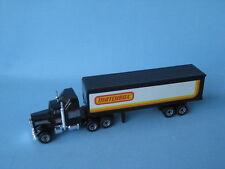 Lesney Matchbox Convoy Kenworth Box Truck Raro juicio pre-pro Mb Etiquetas