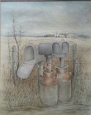 Milk Cans By Roy Mills