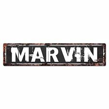 SFND0115 MARVIN MAN CAVE Street Chic Sign Home man cave Decor Gift