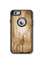 Skin Decal Wrap for OtterBox Defender Case Iphone 6/6S Deer Buck Country Hunting