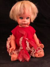 VINTAGE 1966 TENDER LOVING BABY CHEERFUL TEARFUL DOLL FROM MATTEL