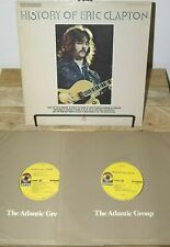 ERIC CLAPTON HISTORY OF CREAM 2XLP ATCO AT NM-