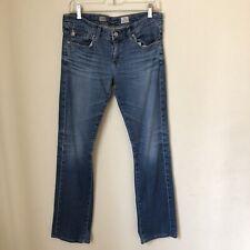 AG Adriano Goldschmied Sz 28 Tomboy Relaxed Straight Leg Denim Blue Jeans